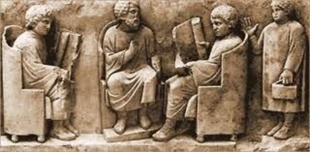 LA EDUCACIÓN  EN EL  MUNDO HELENÍSTICO-ROMANO (IV A. C)