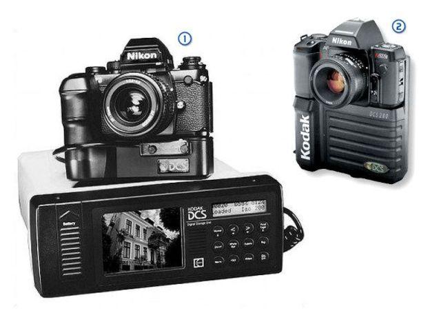 1991 Digital camera system (DCS)