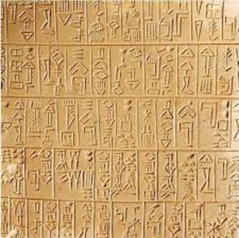 Invención de la escritura