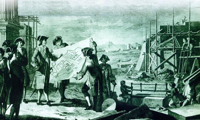 Начало строительства Санкт-Петербурга
