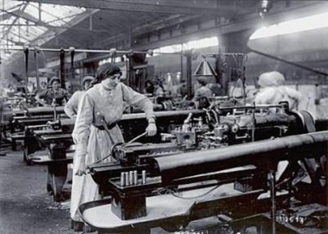 Inicia etapa de la revolución industrial