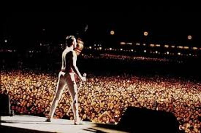 La ultima gira de Freddie