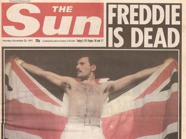 Muere Freddie Mercury