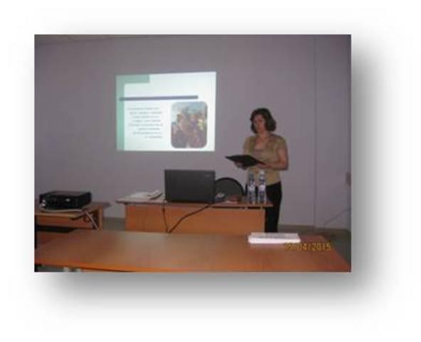 Выступление на Территориальной научно-практической конференции
