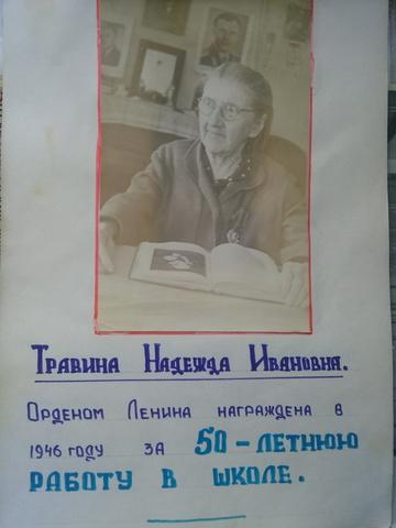 Травина Надежда Ивановна