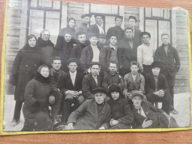 Комсомольская организация в Колхоза в д. Барково