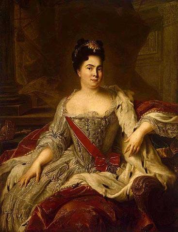 Екатерина I провозглашена императрицей