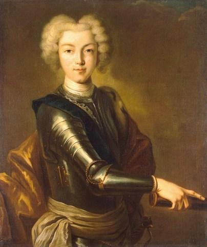 Восход Петра II на престол