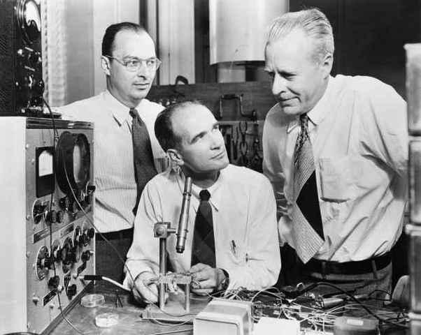 Открытие транзистора