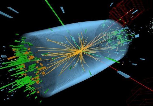 Обнаружение частицы, похожей на бозон Хиггса