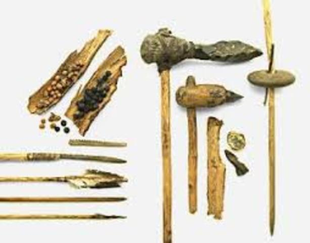 Fabricación de utensilios para la caza