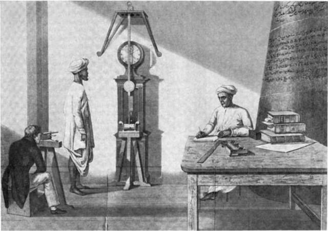 Invención del reloj de Péndulo