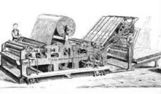 Invención de la prensa de imprimir