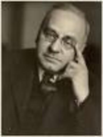 ALFRED W. ADLER (1870- 1937)