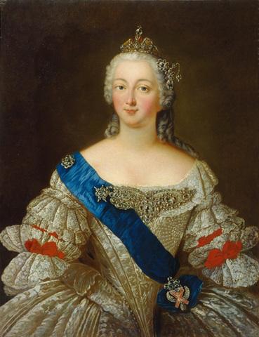 Возведение на престол Елизаветы Петровны