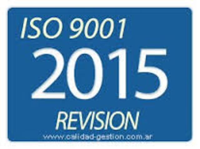 iso 9000 certificacion 2015