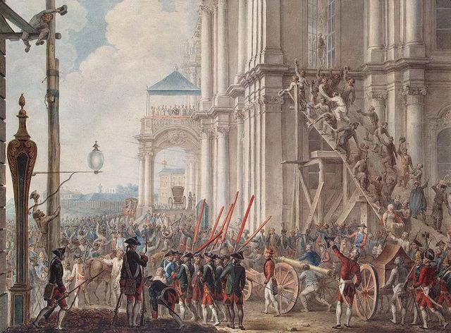Восшествие Екатерины II на престол