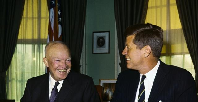 Eisenhower warns JFK