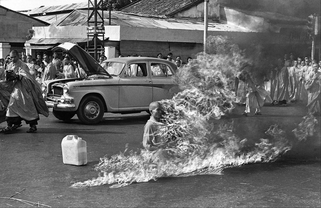Thích Quang Duc Self Immolation