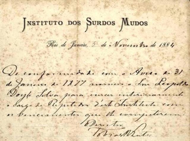1857 Instituto  Surdos Mudos