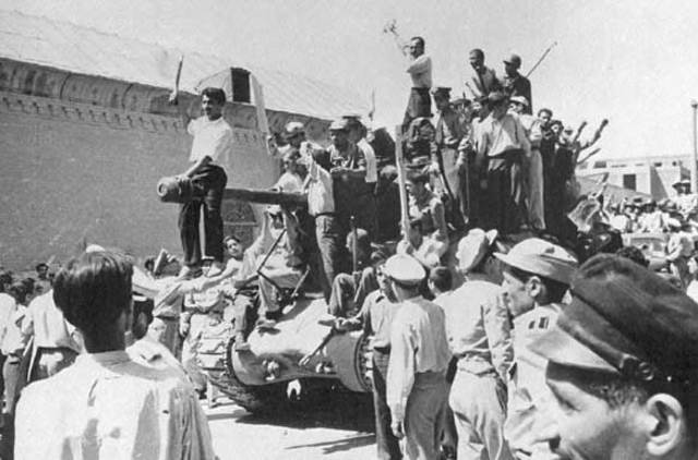 CIA assists overthrow of government in Iran 1954