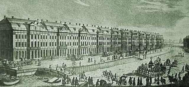 Образование Петербургской Академии наук