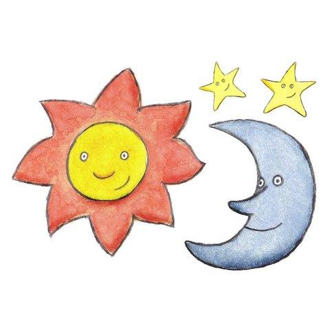 Día Cuatro — Estrellas, Sol y Luna