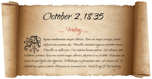 October 1835