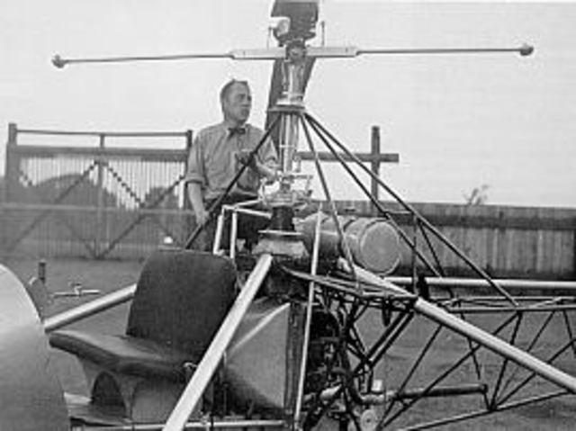 Arthur Young - Creador del Helicóptero