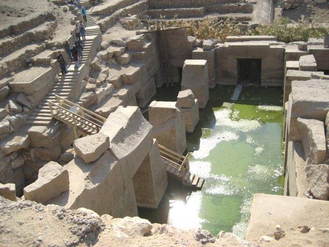 Templo de Osiris - Flor de la Vida