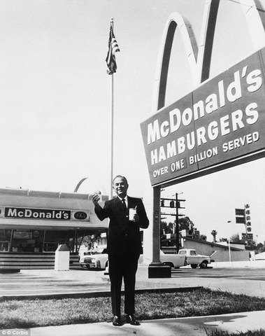 McDonald's company founded by Ray Kroc
