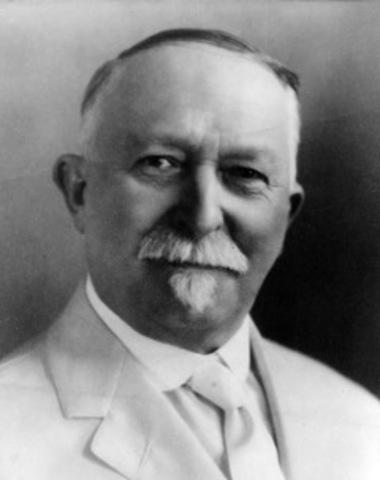 J.H. Kellogg becomes head of Battle Creek Sanitarium