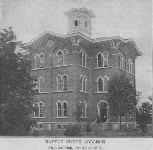 Battle Creek College founded