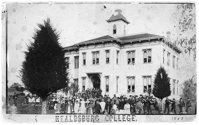 Healdsburg College founded