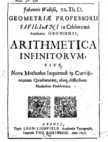Arithmetica infini-torum