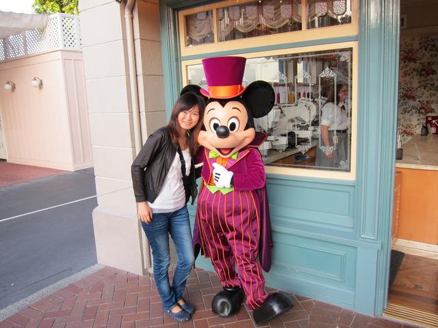I went to Disneyland