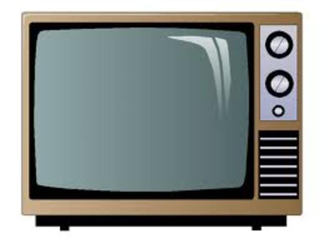 TELEVISION EN BLANCO Y NEGRO