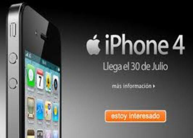 IPHONE 4 TELEFONO MOVIL ULTIMA TECNOLOGIA