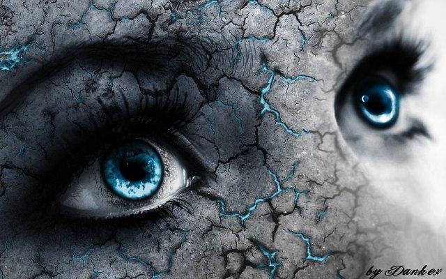 """""""De blå øjne"""" af Karen Blixen"""
