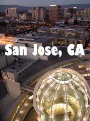 I came to San Jose in America.