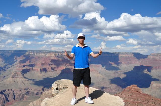 I went to Grand Canyon, Las Vegas and LA.