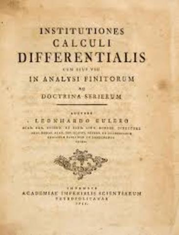 Instituciones Calculi Differentialis.