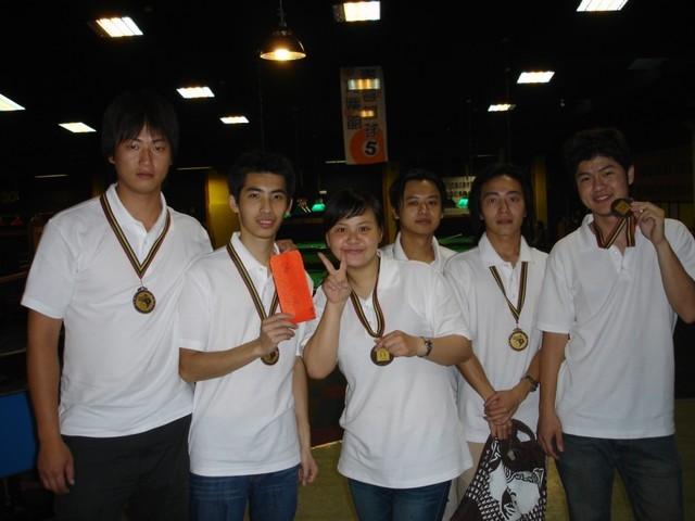 I won an award for billiard champion.