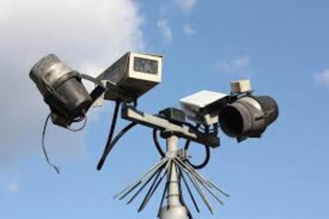 Cámaras de vigilancia en EEUU