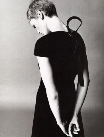 Emily sandberg 1981 shoot for calvin klein by Steven Meisel (pt.2)