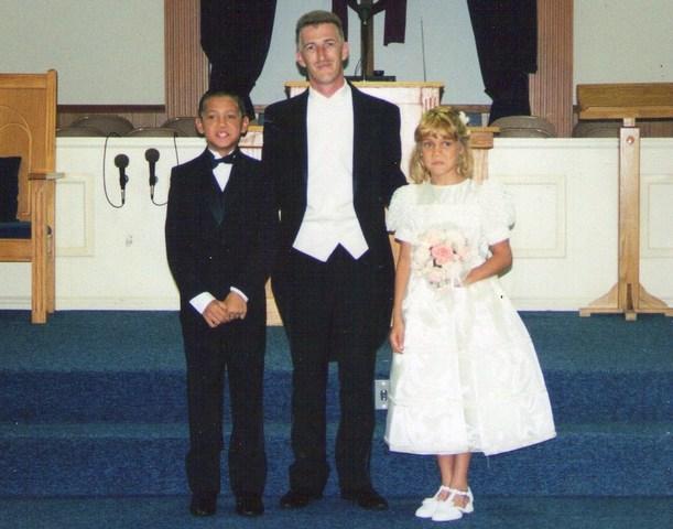 John Peak, Jr. marries Kim.