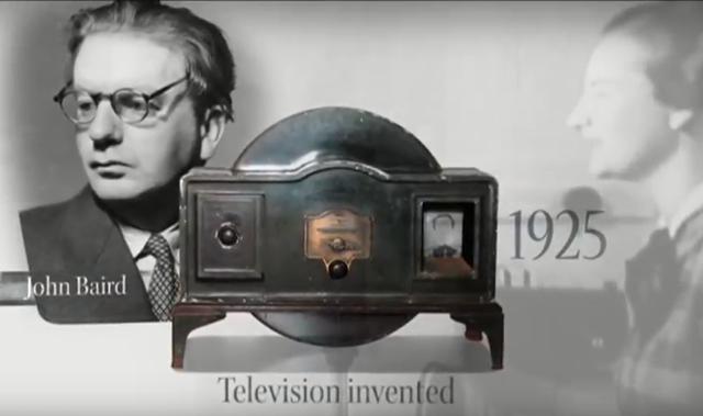 Primeros experimentos de la TV