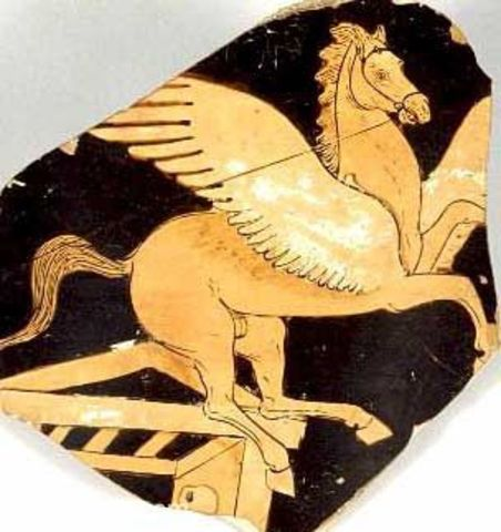 Greek Myth of Pegasus