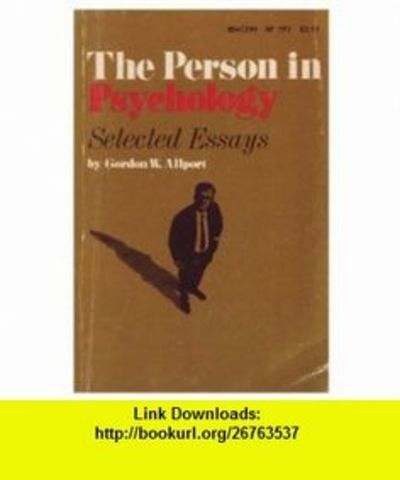 Person and Psichology