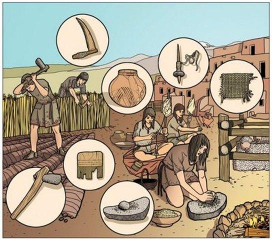 Herramientas de piedra - Cerámica
